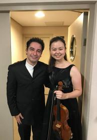 With Maestro Andrés Orozco-Estrada