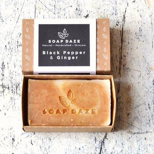 Blackpepper and Ginger Handmade Natural Soap