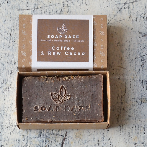 Coffee and Raw Cocao Natural Vegan Soap