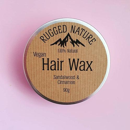 Hair Wax Sandalwood & Cinnamon 90g