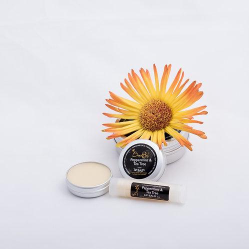 Peppermint & Tea Tree Lip Balm 15ml