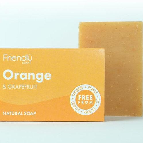 Orange and Grapefruit NaturalSoap Bar