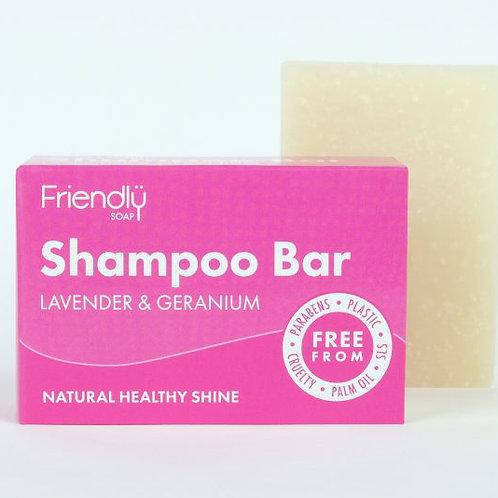 Shampoo Bar Lavender and Geranium