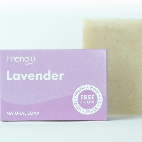 Lavender Fragrance Free Soap Bar