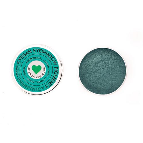 Aquamarine Vegan Mineral Eyeshadow 2g Refill Tin