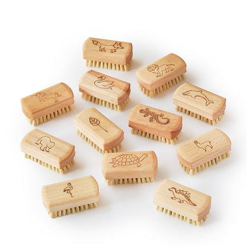 Childrens Natural Vegan Nail Brush (FSC 100%)