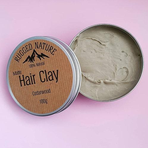 Natural Hair Clay Cedarwood 100g