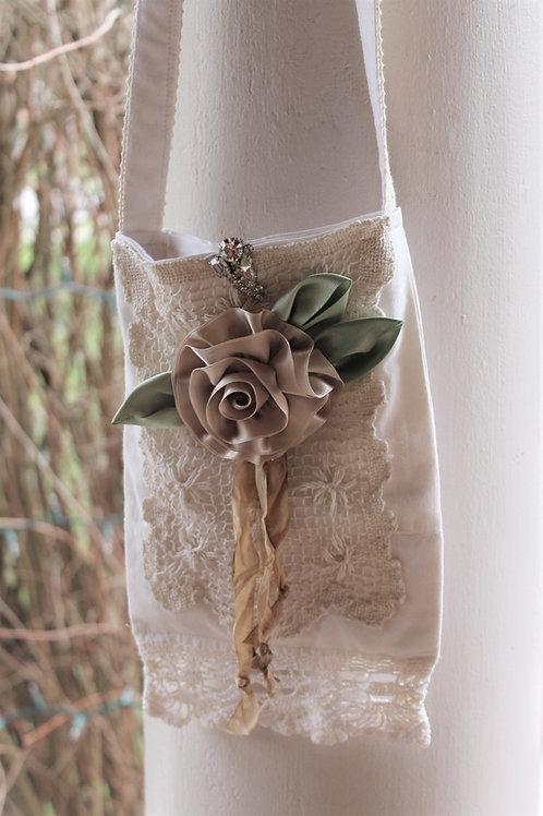 Cotton Crochet Lace Bag