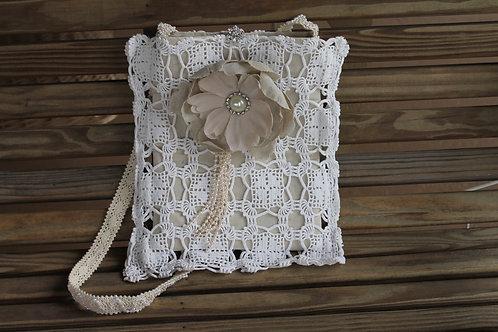 Cotton Crochet Linen Bag