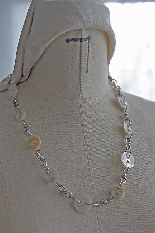 Vintage Button Necklace