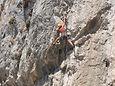Kalymnos, Greece climbing instruction