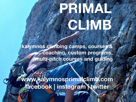 KALYMNOS SUMMER & AUTUMN CLIMBING EVENTS 2019
