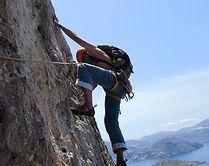 Kalymnos, Greece climbing guiding
