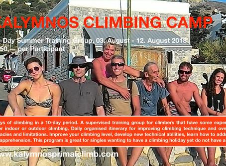 Kalymnos Summer Climbing Camp