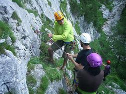 Kalymnos, Greece multi-pitch climbing