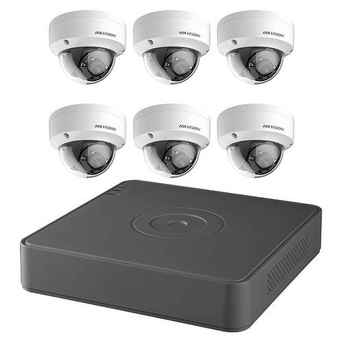 TB 8CH Hikvision 2MP HD TVI Surveillance Kit T7108Q2TB