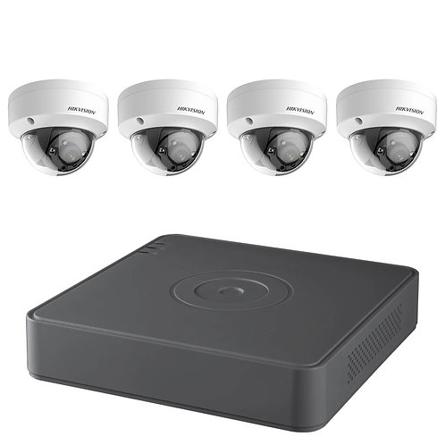 TB 4CH Hikvision 2MP HD TVI Surveillance Kit T7108Q2TB