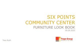 Internship Furniture Look Book