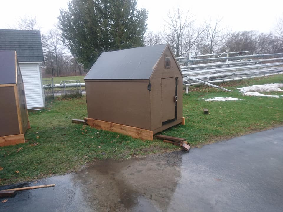 ice huts for rent