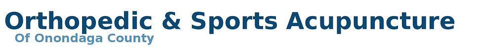 Orthopedic & Sports Acupuncture Logo