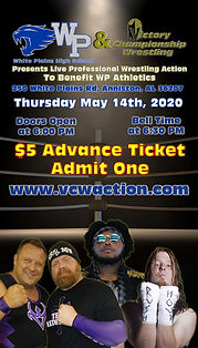 White Plains 05-14-2020 Advance Ticket (