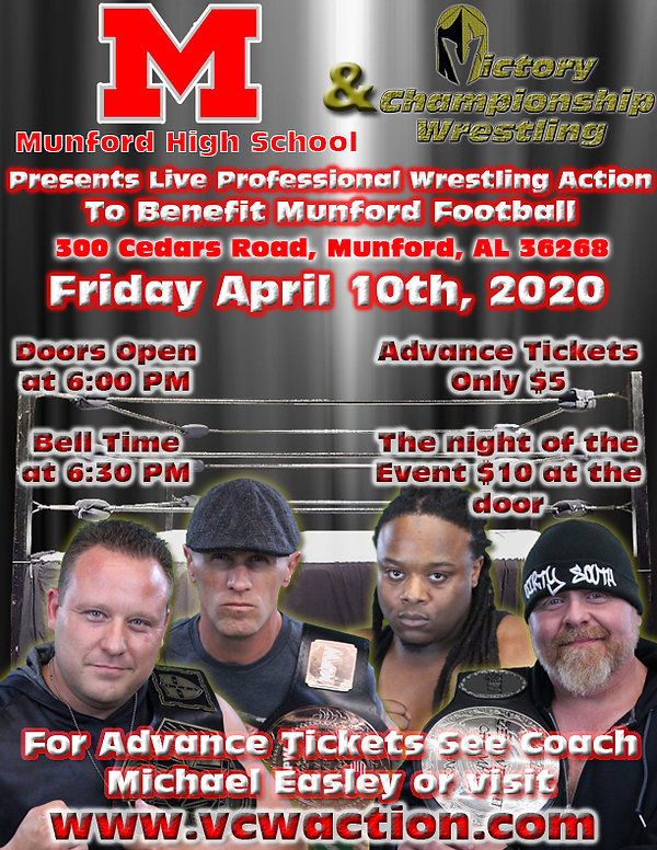 Poster For Munford High School 04-10-202