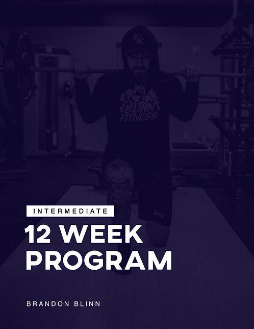 Intermediate 12 Week Program