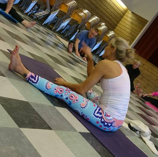 Yogaundervisning