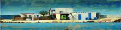 Casa con furgo verde en Majanicho 200x50 peq