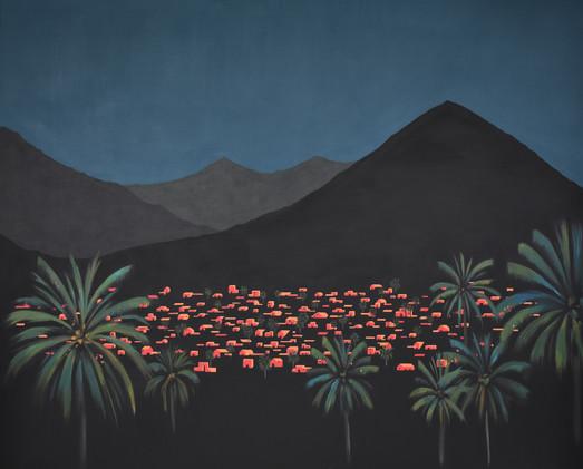 Desde las palmeras VIII 162 x 130 cm