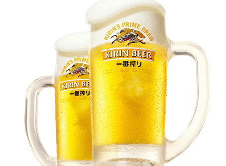 熱い季節、ビールをどうぞ
