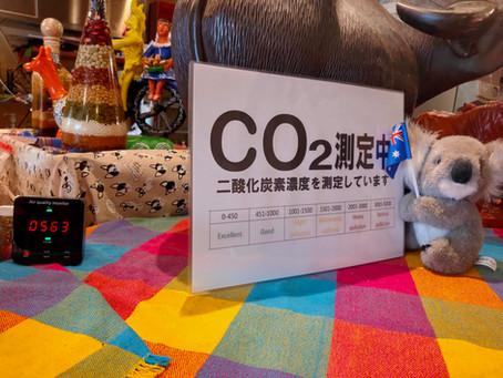 二酸化炭素濃度測定器買いました!!