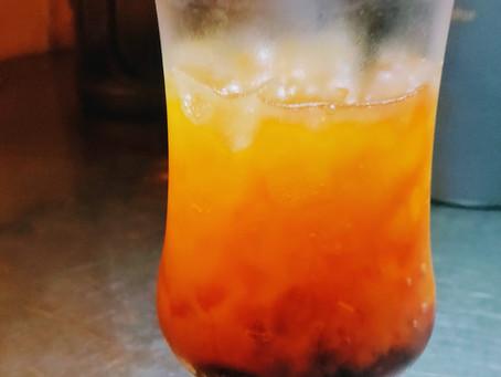 カシスオレンジをどうぞ。