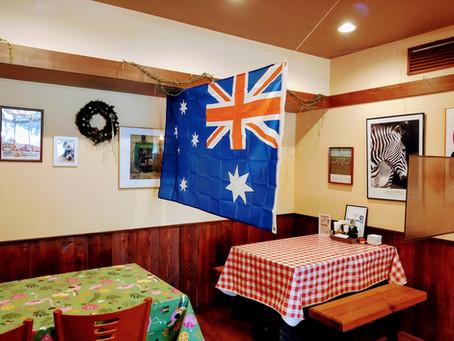 オーストラリア国旗登場!