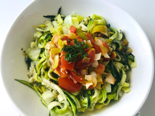 Zoodles - Zuccchini-Nudeln
