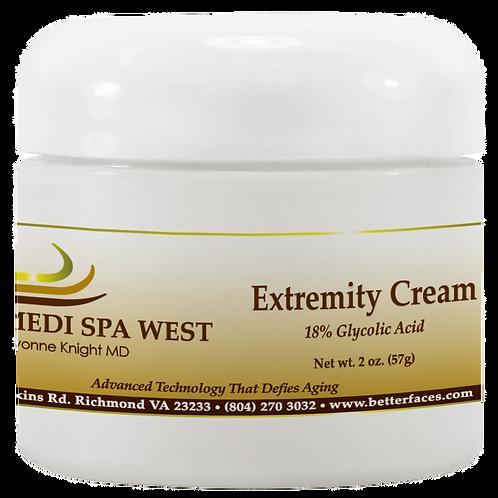 Extremity Cream 18% Glycolic Acid