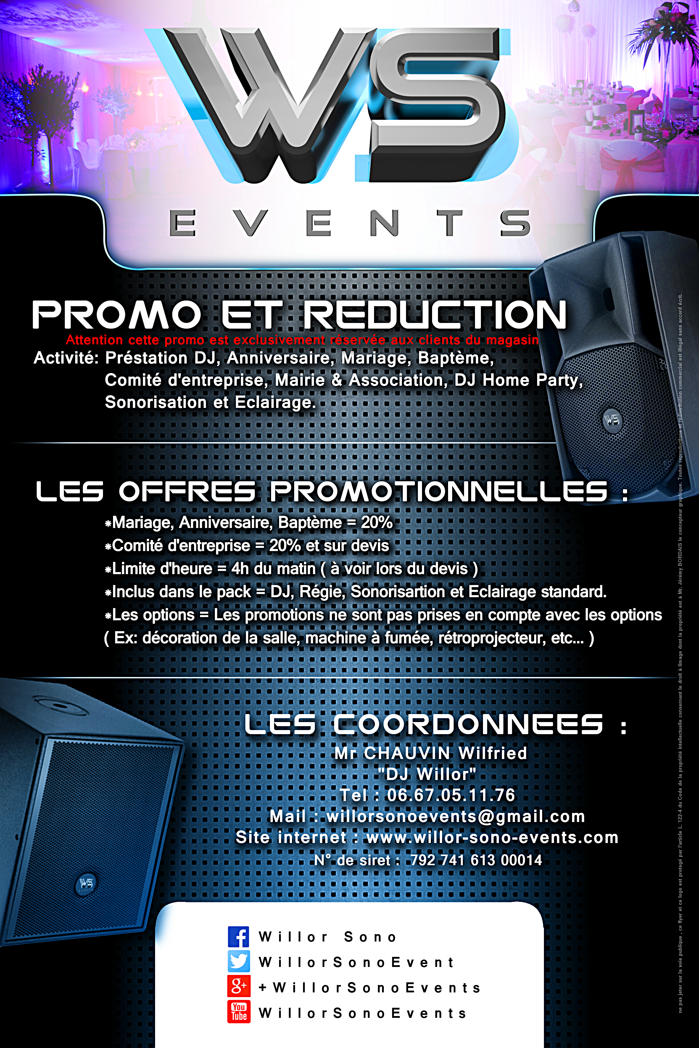 WS Events promo et reduc 2015 2