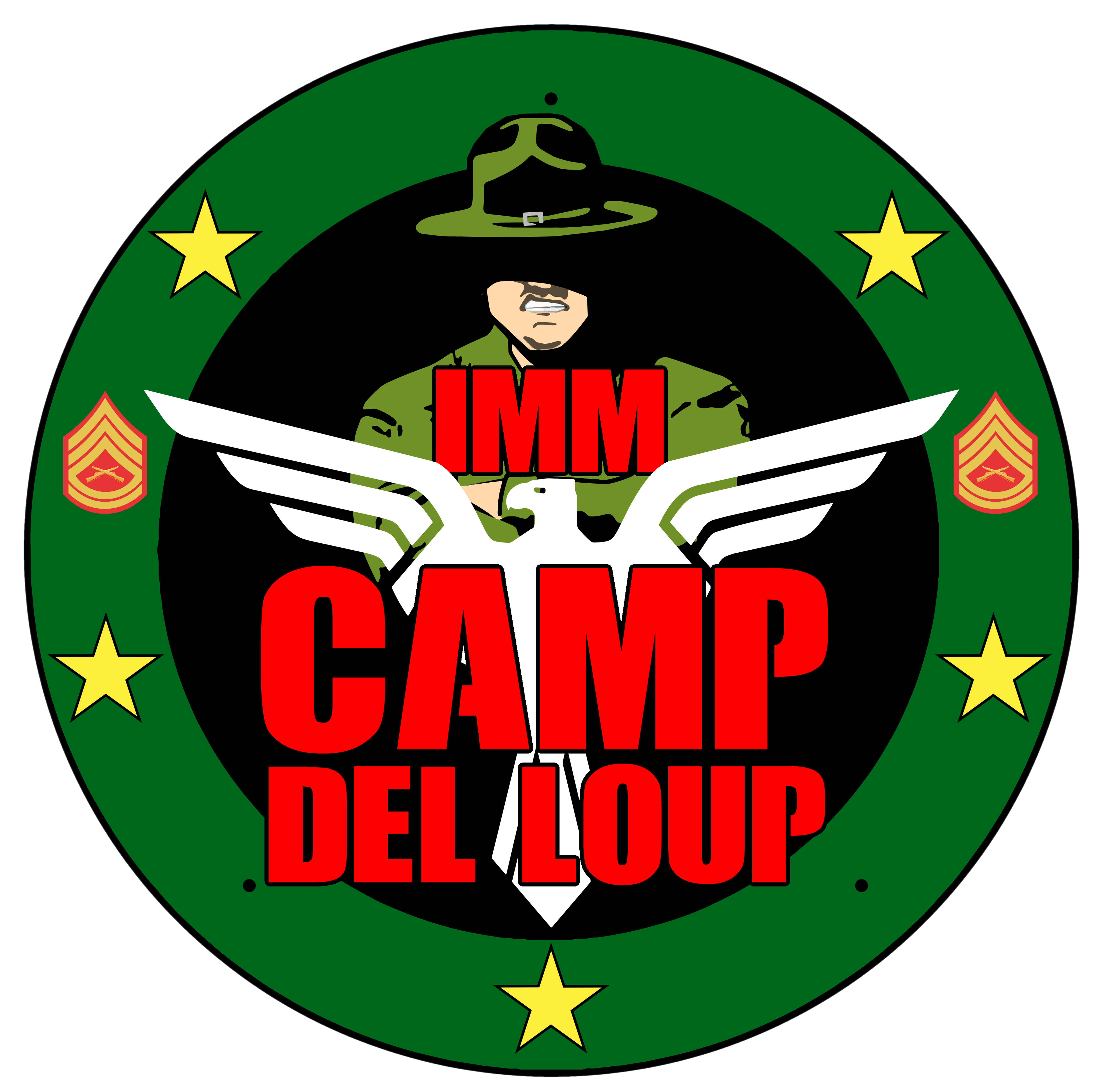 Logo Camp del loup1