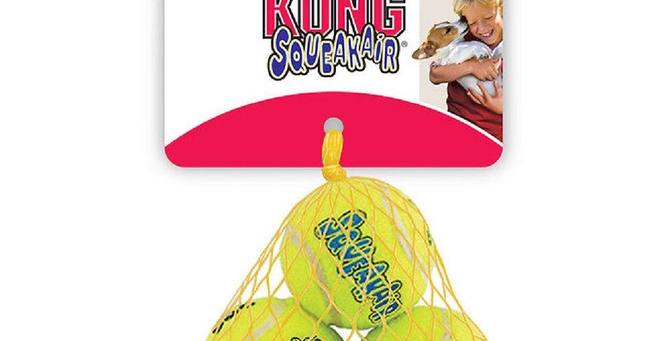 KONG Squeakair Tennis Ball 3 Pack  Choose your size!