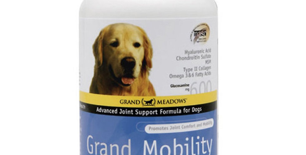 Grand Mobility Advanced Joint Support Formula for Dogs  60 Beef Flavored Wafers