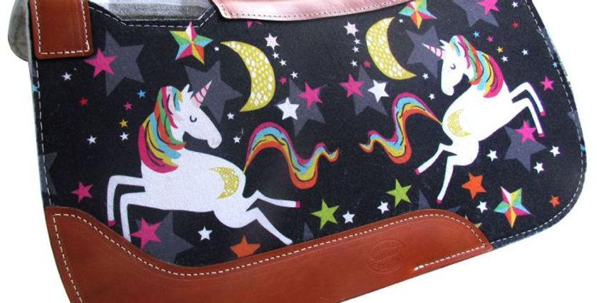 Dreaming Unicorn Printed Felt Pad