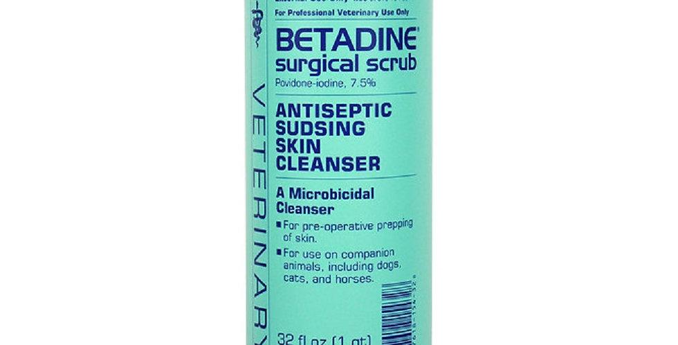 Betadine Antiseptic Skin Cleanser Surgical Scrub 32oz