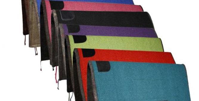 "32"" x 32"" Colored Saddle Pad Felt Back Asst Colors"