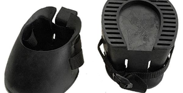 Jacks Black Rubber Barrier Boots - Choose your size!
