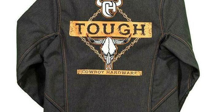 Cowboy Hardware Boys Heather Brown Poly Shell Tough Jacket