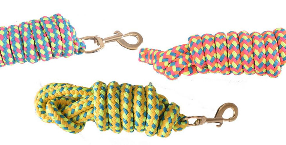 8' Braided Softy Cotton Lead Rope 19024