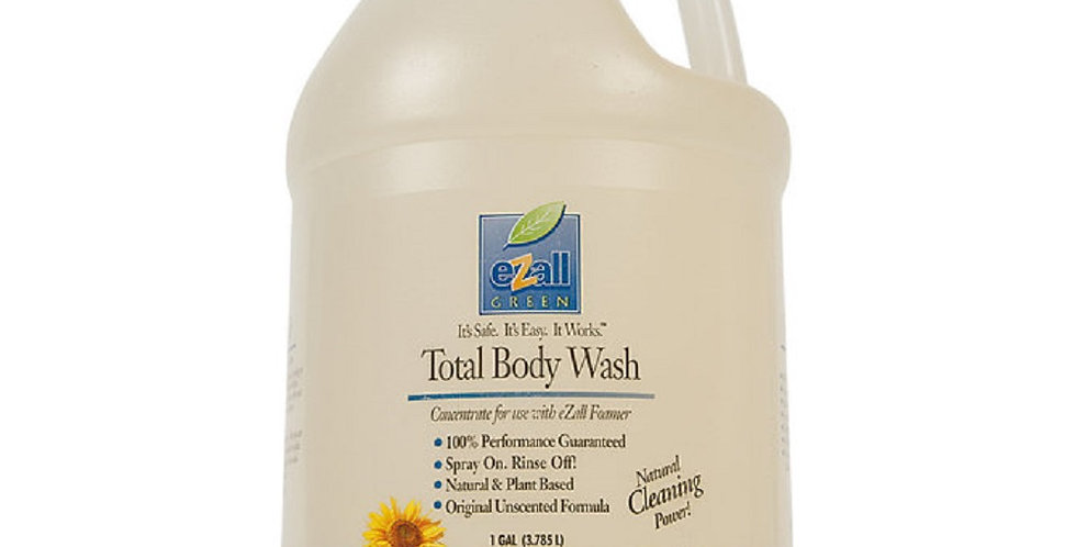 eZall Green Total Body Wash Unscented Gallon