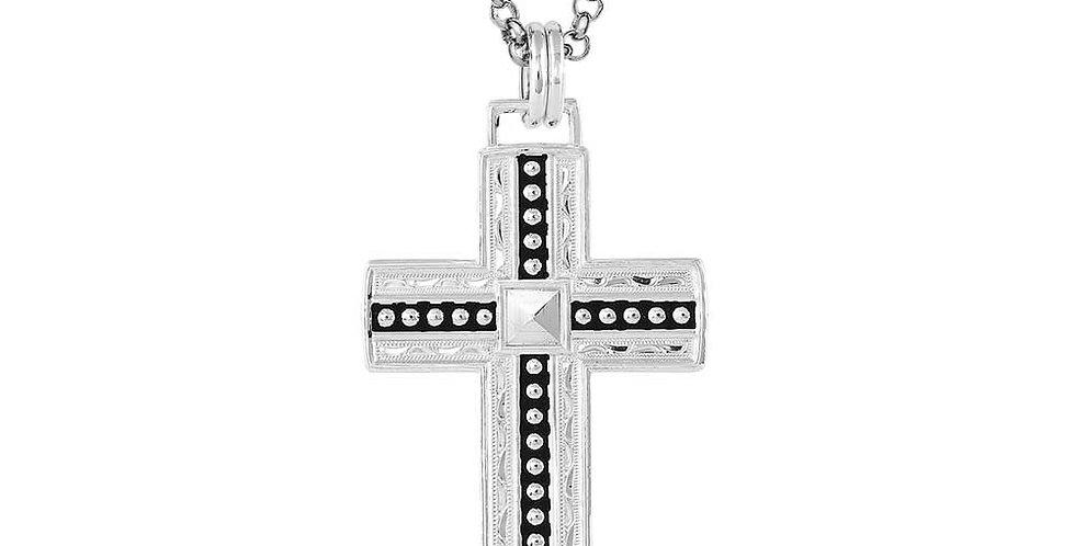 Diamond Rio Cross Necklace
