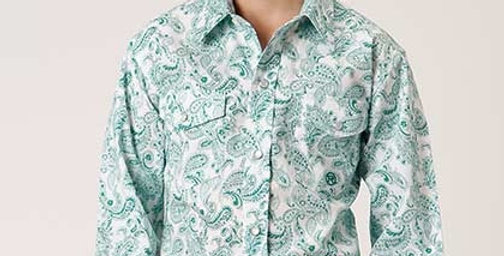 Boy's Western Shirt ~ JADE PAISLEY