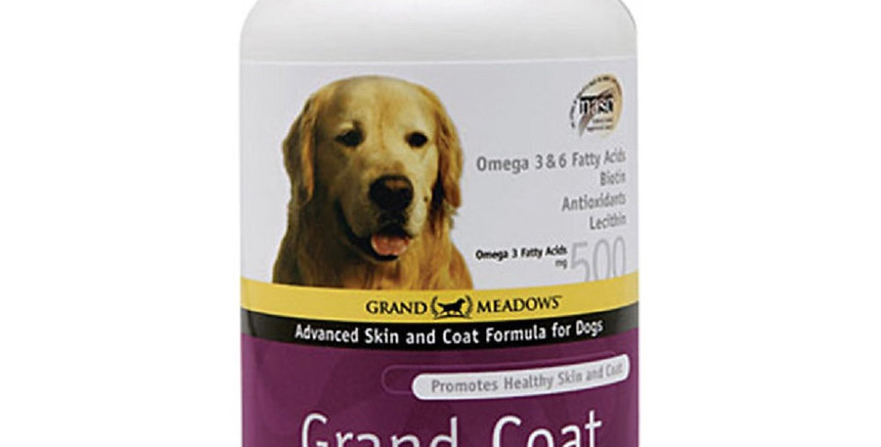 Grand Coat Dog Supplement 60 Wafers